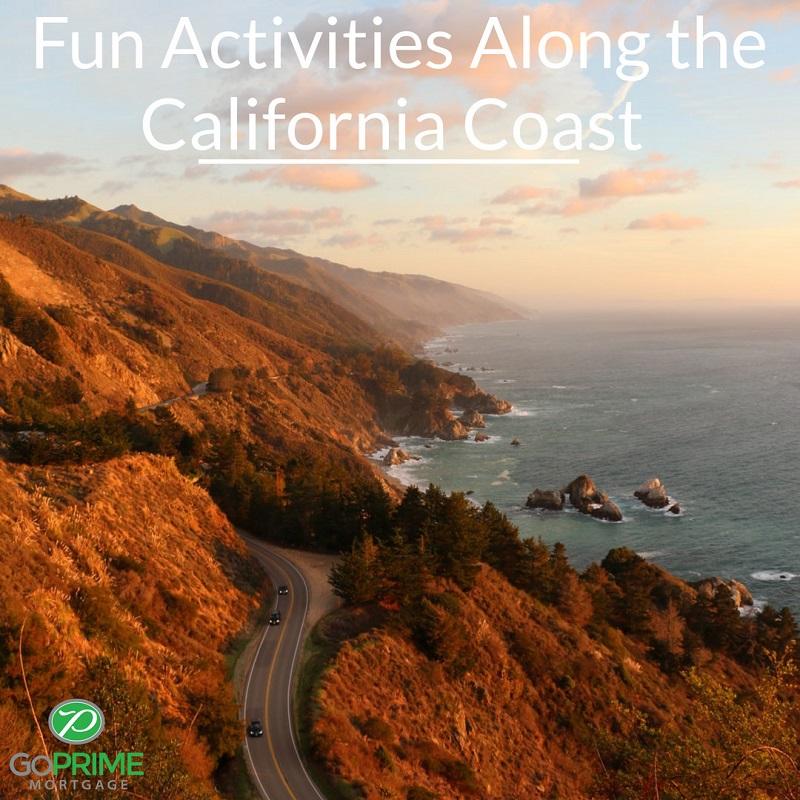 Fun Activities Along the California Coast