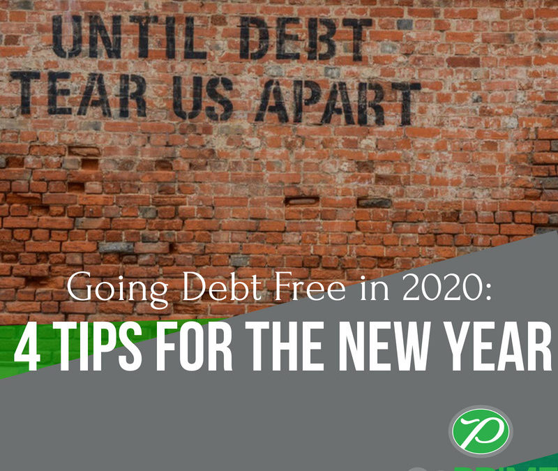 Going Debt Free in 2020